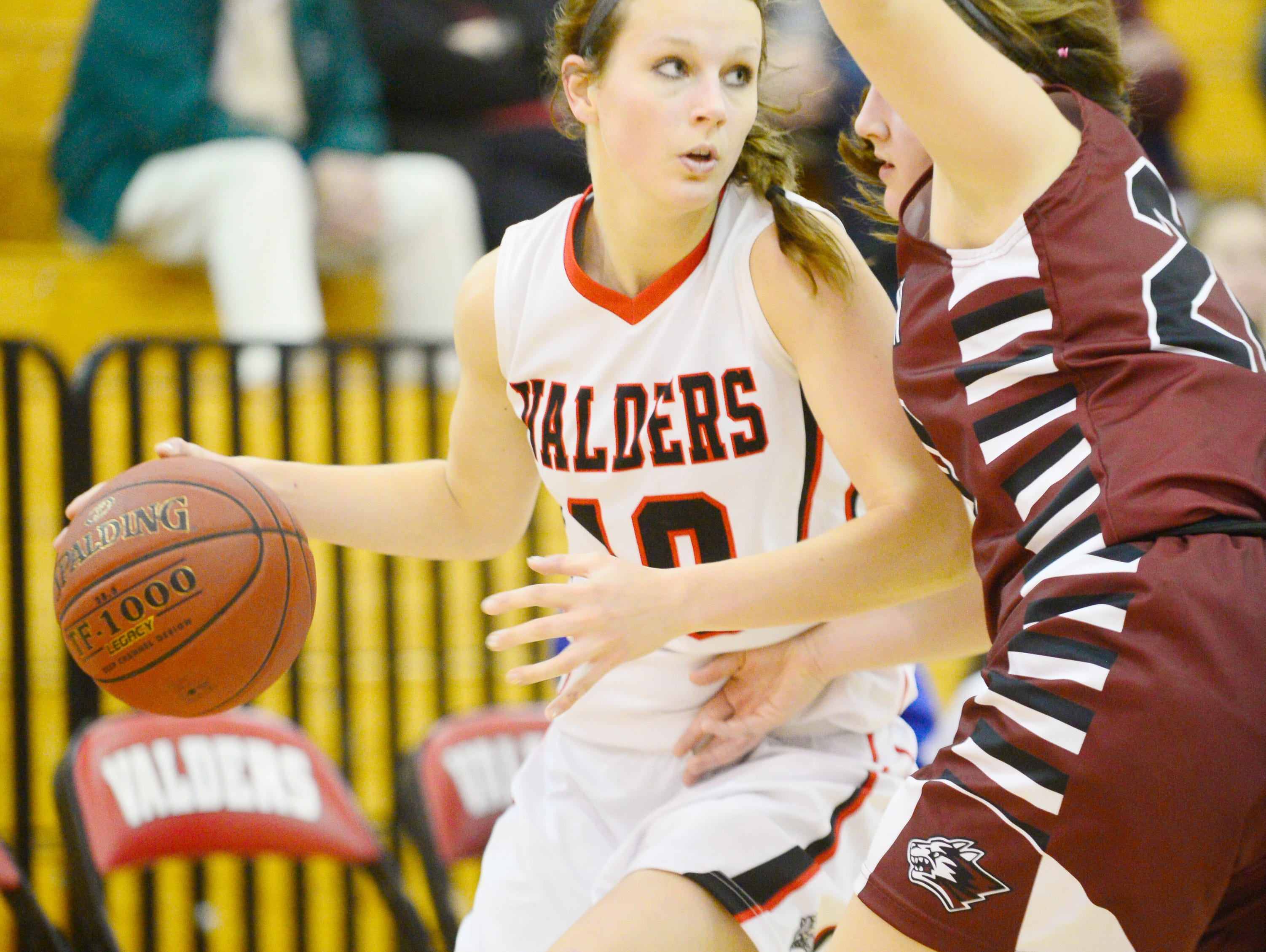 Valders' Conner Grall erupted onto the scene last season, being named Olympian Conference Player of the Year as a junior.