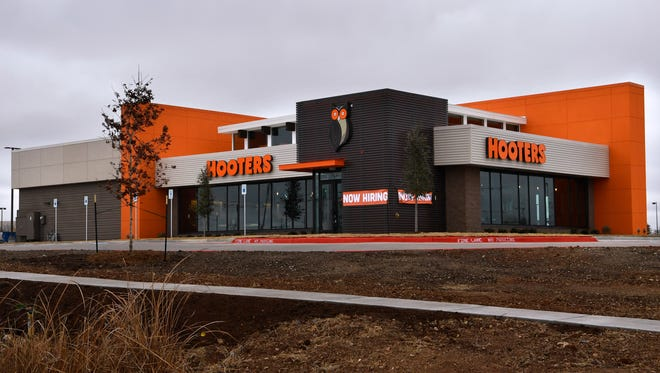 A Hooters restaurant opened in Abilene recently.