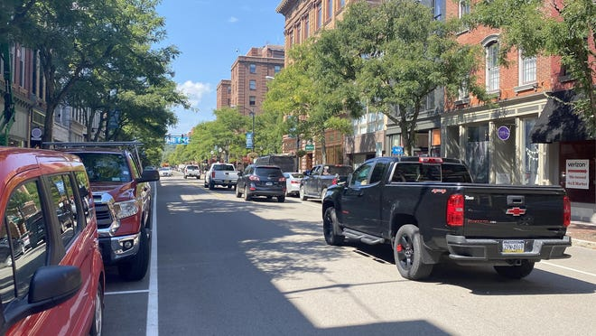 Historic Market Street reopened to parkiing and traffic Tuesday morning.