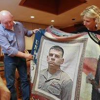 On their first Gold Star Christmas, fallen Marine's parents look back