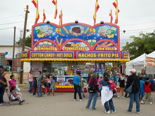 Fair Food is every where at the Southern New Mexico.