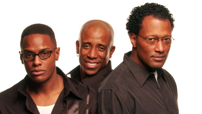 """Check out comedy trio The Blackpack's """"All Laughs Matter"""" on stage at the Wortham Theatre on March 31."""