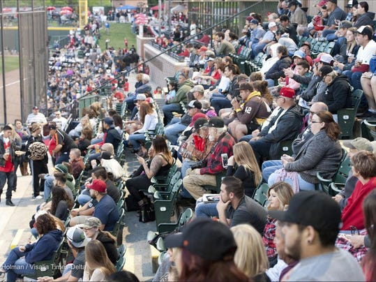 Opening Day Crowd