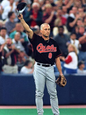 Cal Ripken Jr., pictured in 1998, will visit Roy Rogers in Brick on April 30.