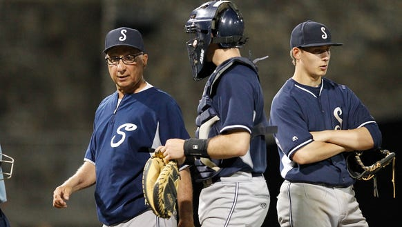 Longtime Suffern baseball coach Ron Gamma will have his number retired when his former team hosts Clarkstown South on Tuesday, April 17, 2018.