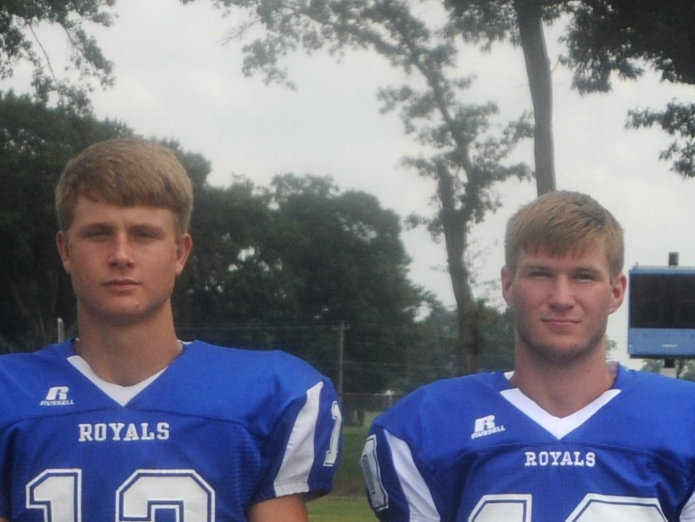 Two of Jay's top returners on offense are QB Connor