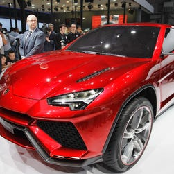 Lamborghini Urus was the sport-utility concept that the brand showed at  an auto show in China