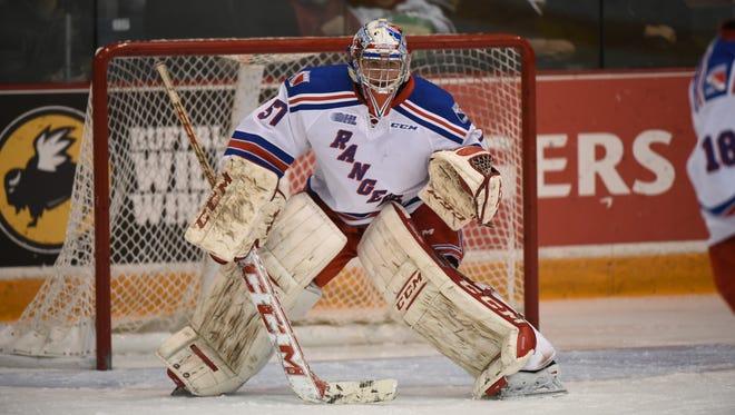 Detroit Red Wings goalie prospect Jake Paterson