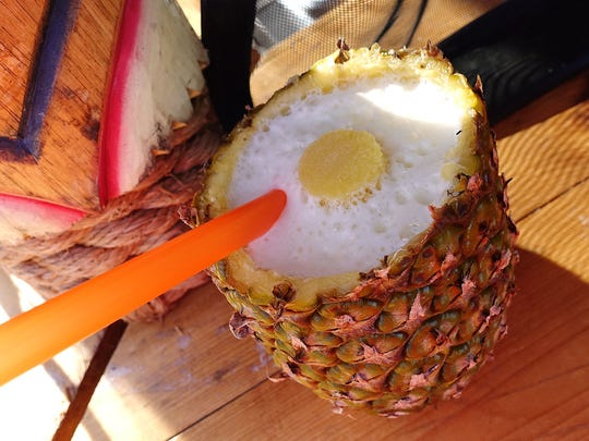 Pineapple drink from Drink A Fruit From The Fruit at