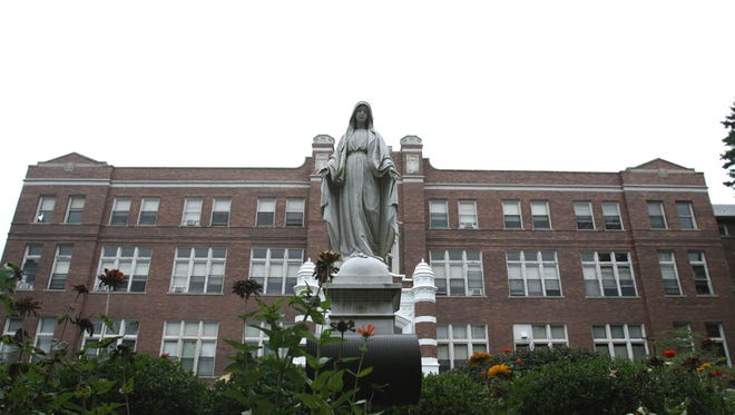Mother of Mercy High School will close its Westwood campus and merge with McAuley on the College Hill campus beginning with the 2018-19 school year.