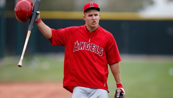 Mike Trout and the Angels have some five weeks to work out a longer-term deal before the start of the regular season.