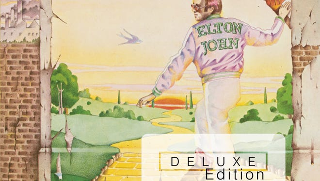 """This CD cover image released by Island Mercury Records shows """"Goodbye Yellow Brick Road,"""" a deluxe edition by Elton John."""