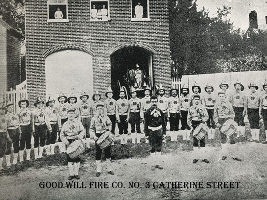 The Good Will Fire Company No 3 on East Catherine Street