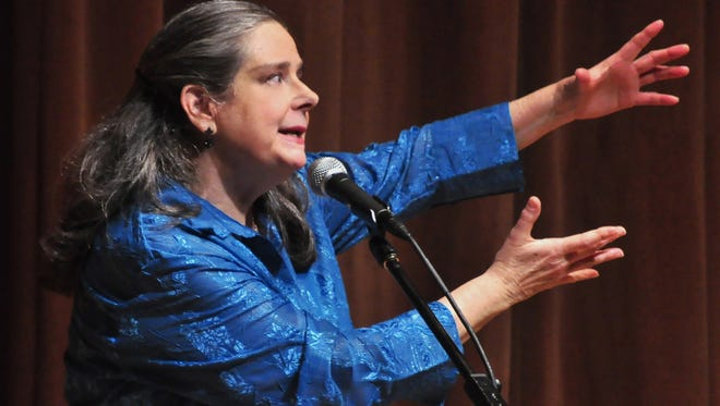 Beth Horner is a veteran of the Four Corners Storytelling Festival, having performed there many times in the past.