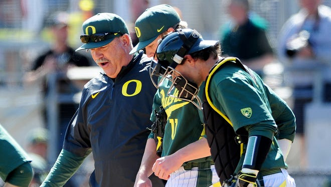 Coach George Horton and the Oregon baseball team gained some momentum with the series victory against California last week. They will try to build on that this weekend against USC.