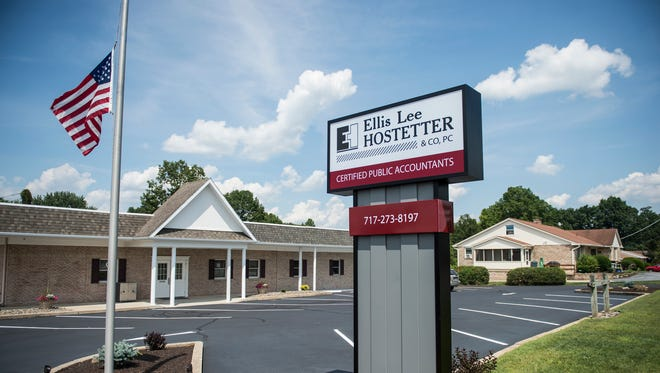 The new location of Ellis Lee Hosttetter at 1810 S. Fifth Ave. in South Lebanon Township on Tuesday, July 12, 2016.