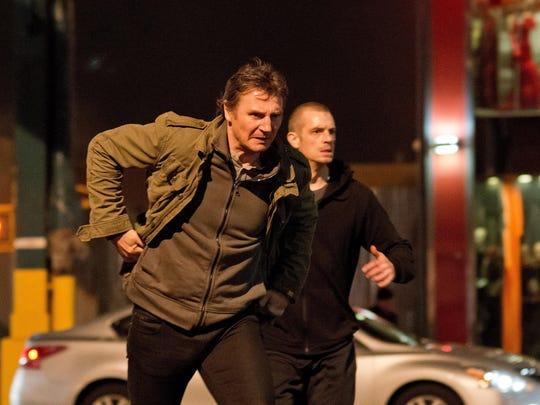 "Liam Neeson and Joel Kinnaman star in ""Run All Night."""