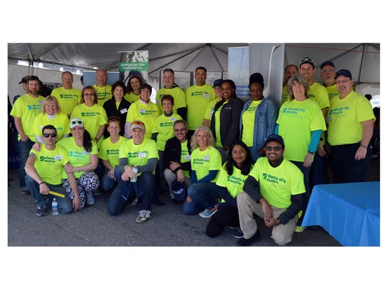 About 60 Atlantic City Electric employees volunteered