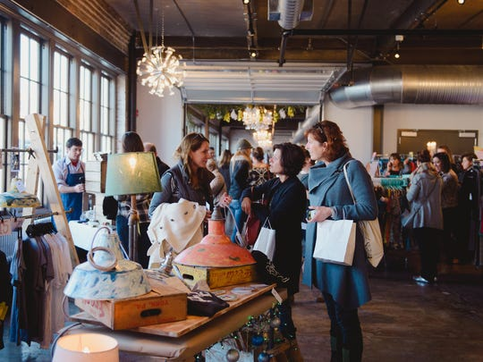 The first annual Holiday Market in York City, December