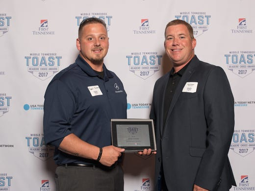 Toast of music city 2017 retail winners for Mercedes benz music city nashville