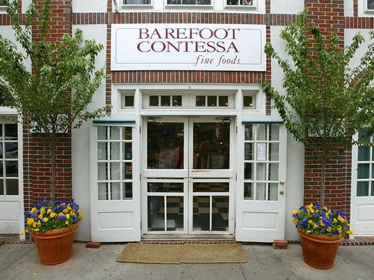 A 2002 exterior photo of the old Barefoot Contessa in East Hampton, New York. The Hamptons, located on the tip of Long Island, is a popular area for socially connected individuals, celebrities and wealthy residents.