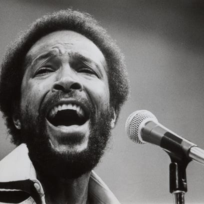 Marvin Gaye publicity photo.