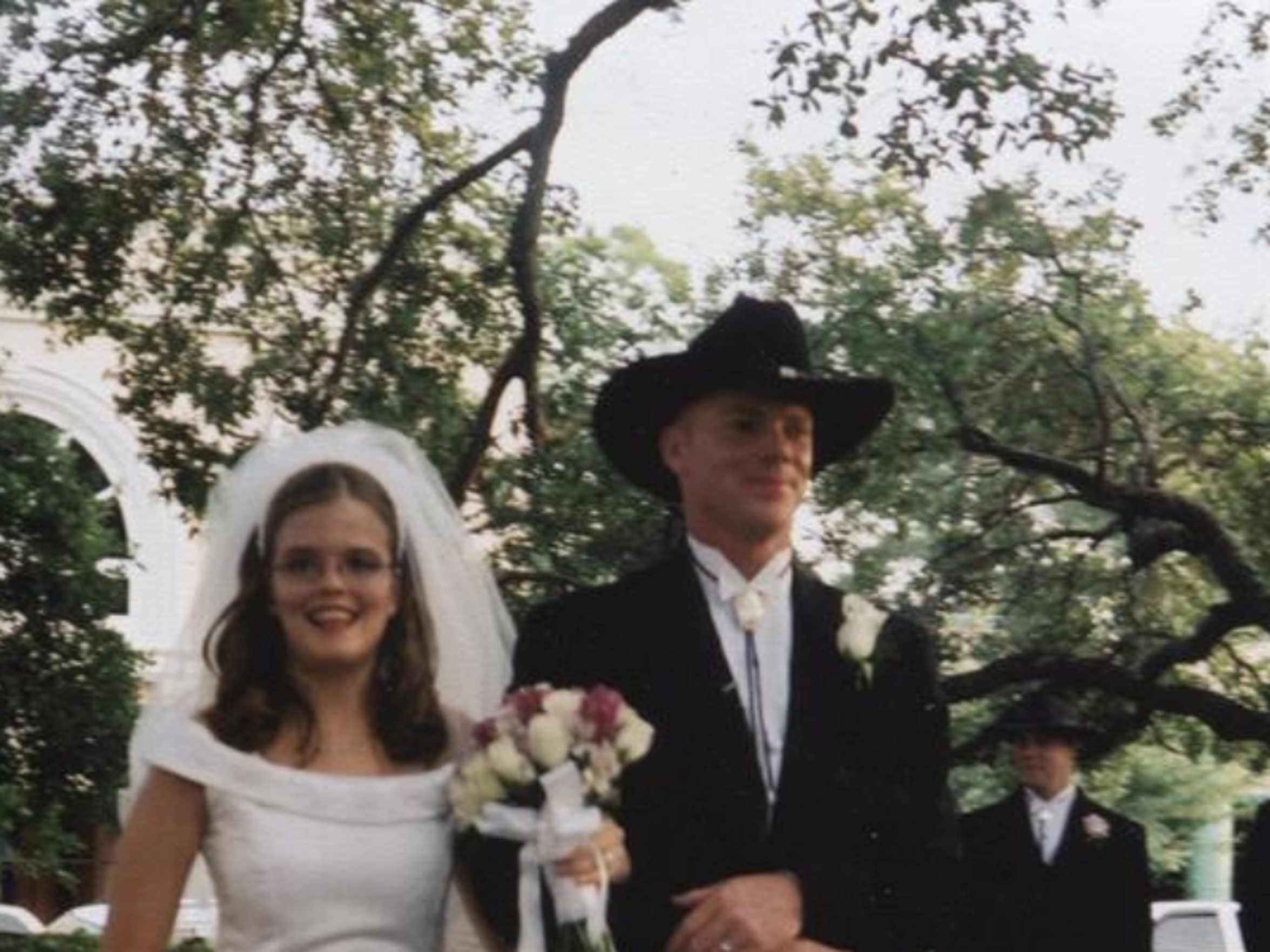Lana and Evan got married in 2002.
