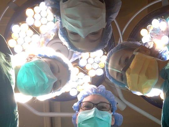 Woman surgeons in the orthopedic department at Cincinnati