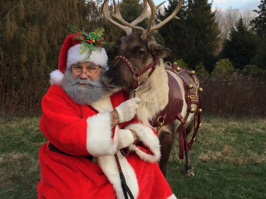 The event will run in conjunction with Crown Veterinary Specialists' Holiday Open House which will be held from 12 p.m. to 3 p.m., where visitors will also be able to see live reindeer, meet dogs available for adoption from the Greyhound Friends of New Jersey and enjoy refreshments.