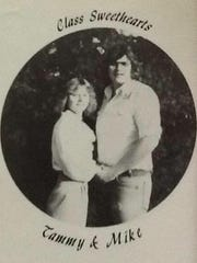 Tammy and Mike Eisenbergers were the Class Sweethearts of their senior class at Greencastle-Antrim High School.