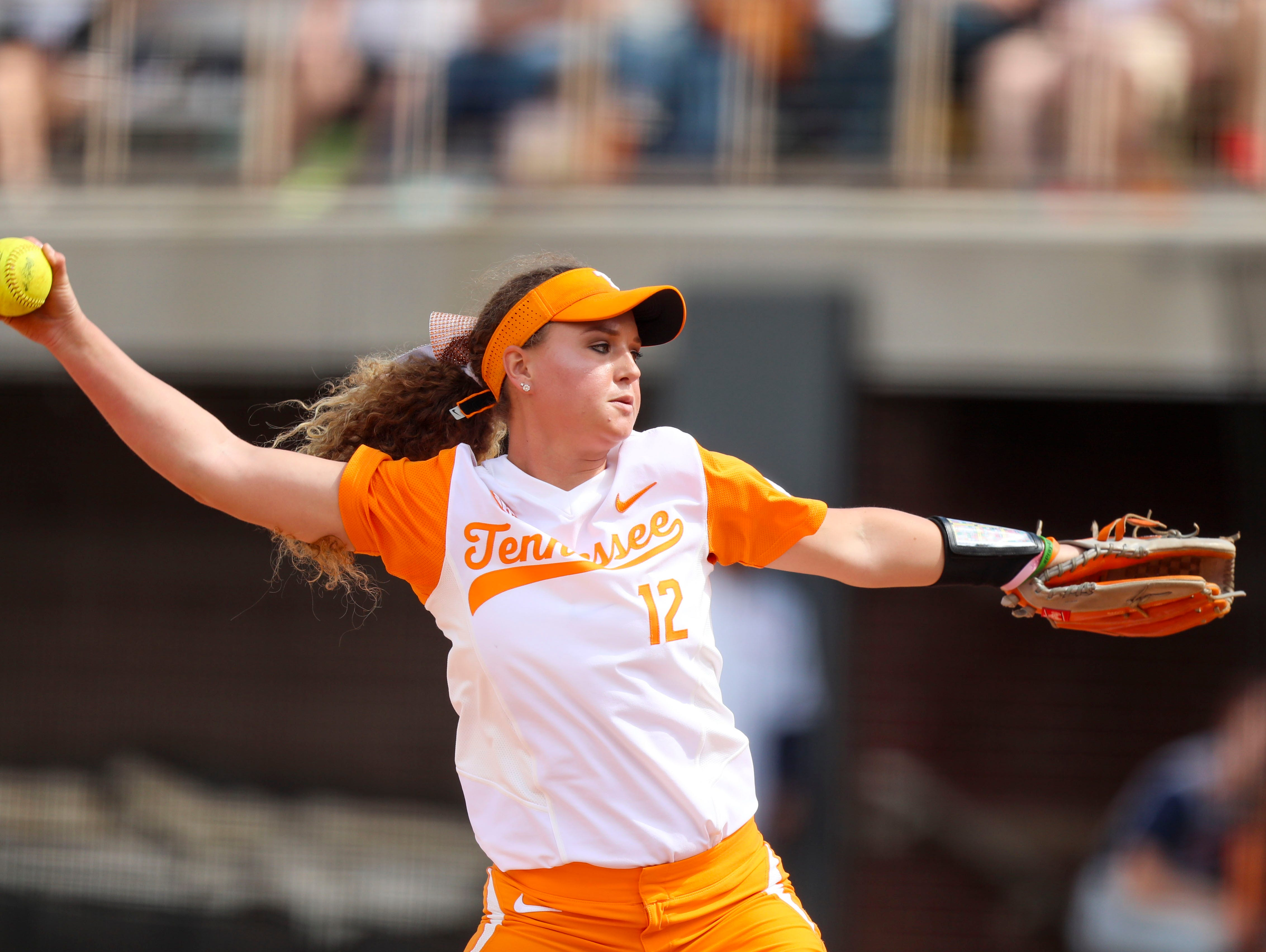 Tennessee pitcher Caylan threw six innings of scoreless relief to help the Vols beat N.C. State 6-1 on Sunday at Sherri Parker Lee Stadium.