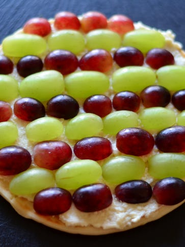 Transform extra grapes into a pizza with this easy
