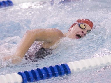 Canton's Claire Green returns as part of the varsity girls swim team's talented, hard-working nucleus.
