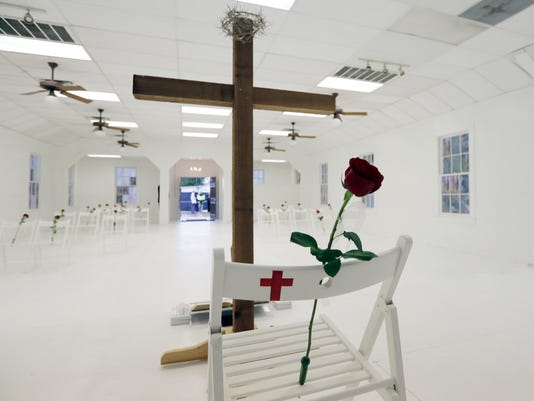 AP APTOPIX CHURCH SHOOTING TEXAS A USA TX