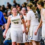 Photos: DeWitt girls claim share of CAAC Red with win over Haslett