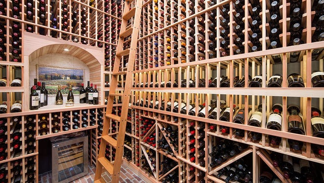 Bring the wine front and center to a place that's not only accessible but shows off the collection.