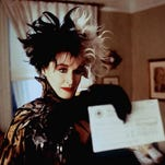 """Glenn Close is seen in her role as Cruella De Vil in the Walt Disney Pictures' remake of """"101 Dalmatians."""" Disney plans a sequel to be called ``102 Dalmatians,'' Daily Variety reported Friday, Jan. 29, 1999. Disney hopes Close will return for an encore performance of the pup-nabbing Cruella. (AP Photo/Walt Disney Pictures, Clive Coote)"""