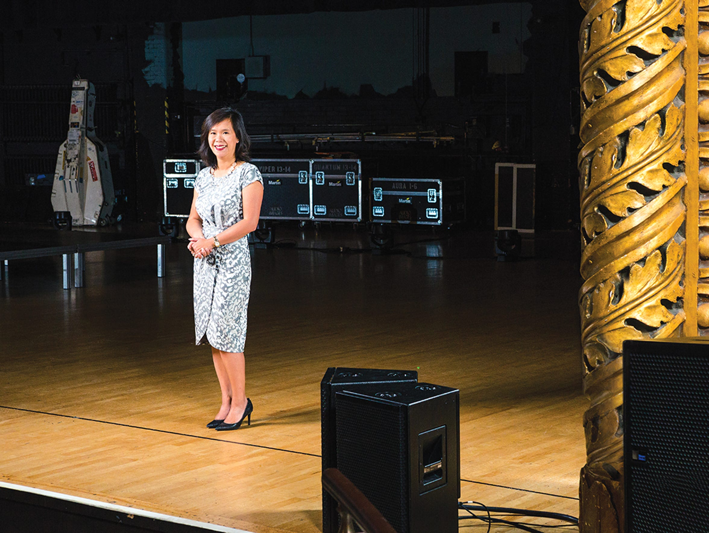 Julia Ng schedules the events at The Eastman School
