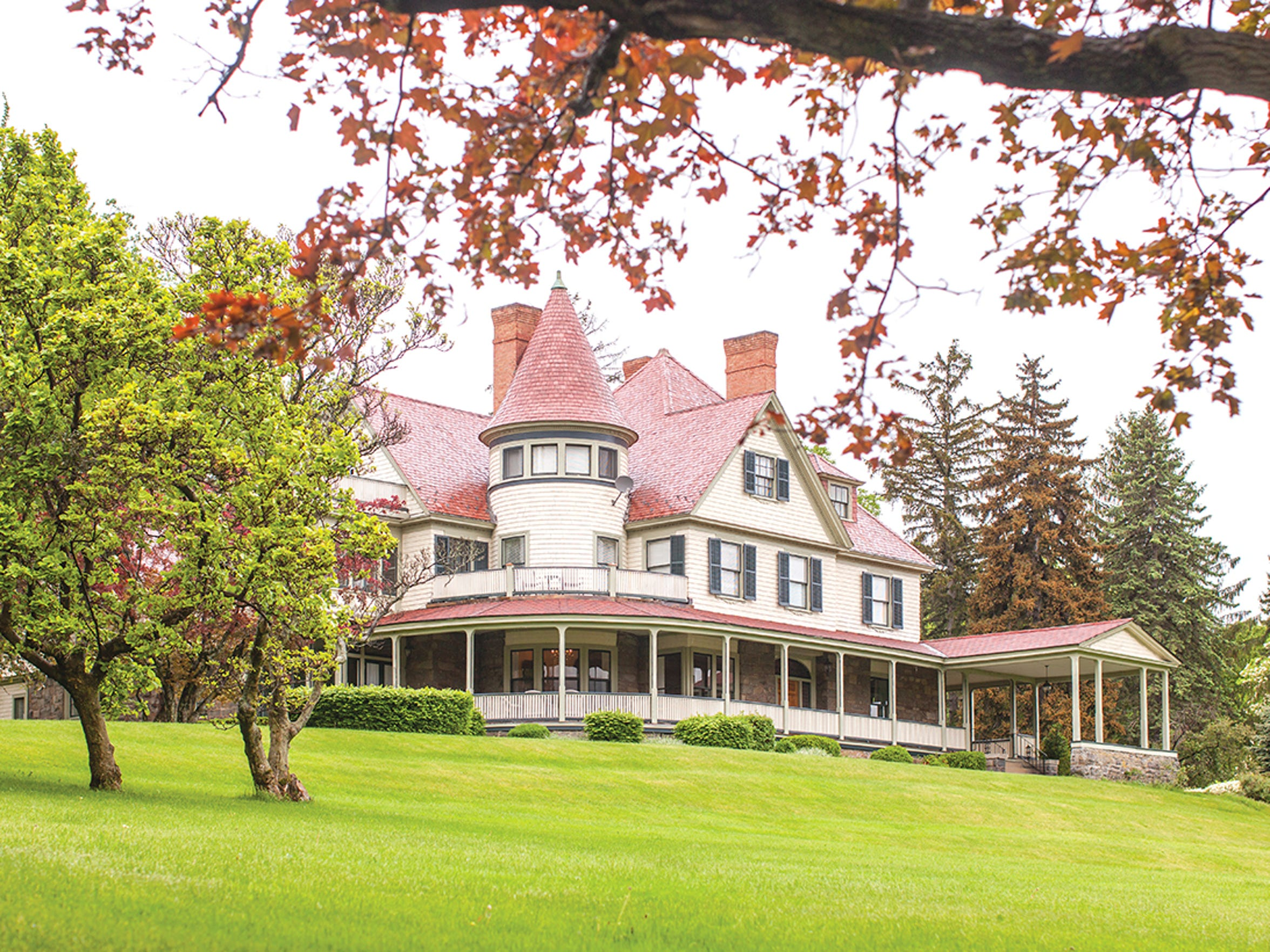 Idlwilde inn in Watkins Glen.