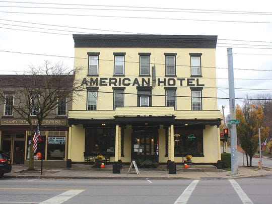 The American Hotel in Lima.