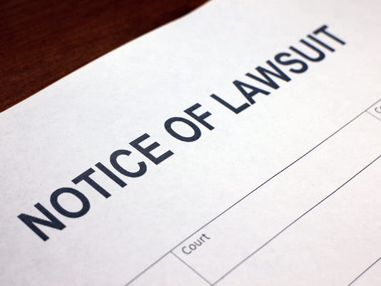 Lawsuit Generic Stock Image