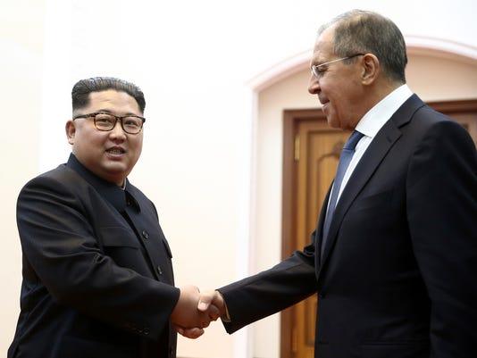 AP NORTH KOREA RUSSIA I PRK