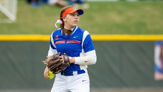 Boise State's Rebekah Cervantes, a 2015 Redwood grad, was named the 2016 Mountain West Conference freshman of the year.