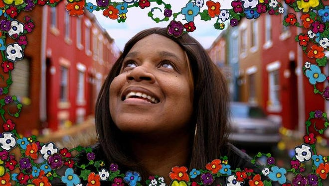 """A still from filmmaker Glenn Holsten's documentary """"Hollywood Beauty Salon"""" about a beauty parlor inside the Germantown Recovery Community, a nonprofit mental health facility in Philadelphia."""