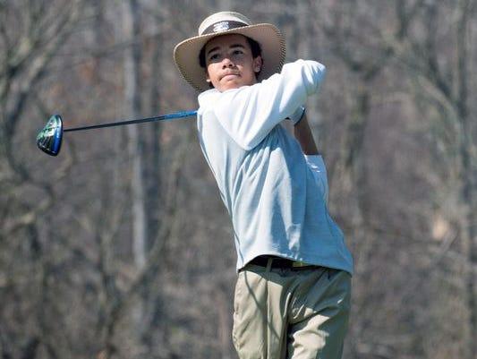 Battle Creek Lakeview golfer Andrew Walker