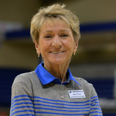 UNC Asheville Director of Athletics Janet Cone.