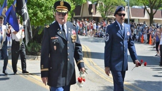 The American Legion post was well-represented at the Memorial Day parade.