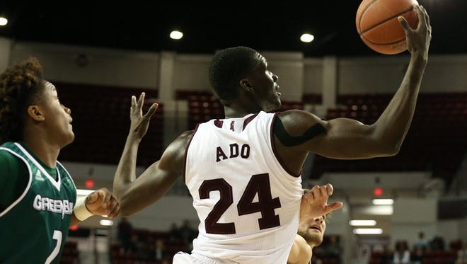 Ben Howland calls Abdul Ado Mississippi State's best rebounder.