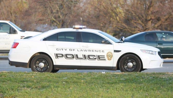 Lawrence police car.