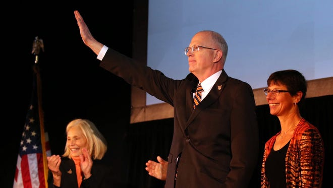 David C. Munson Jr. ia introduced as the next president of Rochester Institute of Technology.